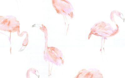 Meubelstof Flamingo